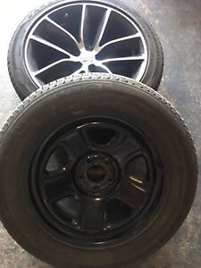 Summer tires and winter tires and rims 225/60/18
