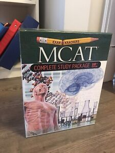 Examkrackers 10th Edition MCAT Complete Study Package