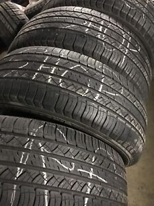Used Set of 4 - 235/60/18 Michelin Tires