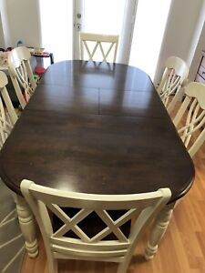 Wooden dining set for sale