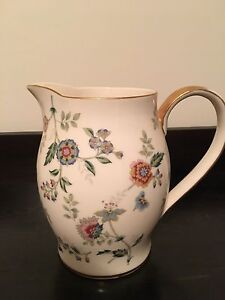 Porcelain fine china pitcher