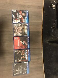 PS4 Games. Make me an offer