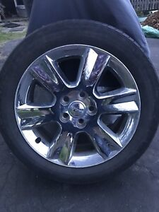 SOLD PPU Chrome wheels for Dodge Journey