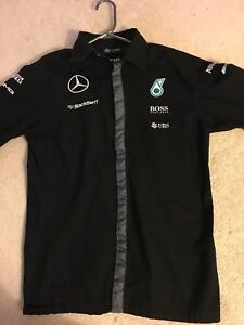 Mercedes AMG F1 team shirt size small long sleeve (used)