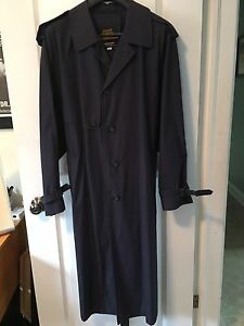 Men's vintage London fog trench coat