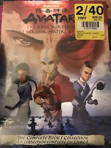 The Last Air Bender Book 1 Factory Sealed