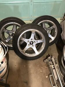 Authentic chrome mustang wheels