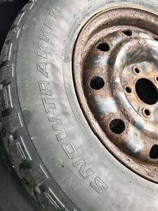 Winter tires with rims 80$ size 15