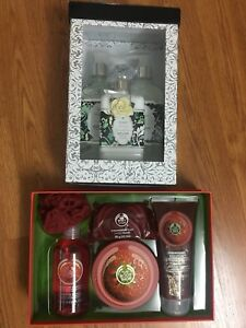 L'occitane set, Bath and Body Works, The Body Shop gift set