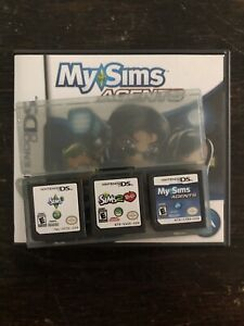 Nintendo DS - The Sims 2 Pets, Sims 3, My Sims