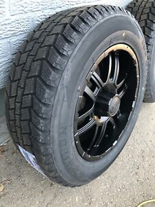"20"" Chevrolet GMC Sierra Silverado 20 inch rims $ winter tires"