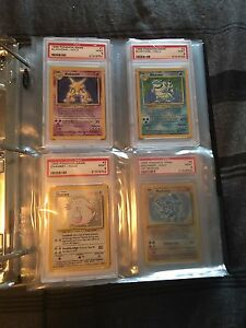 1999 Pokémon Base Set PSA 9 Set