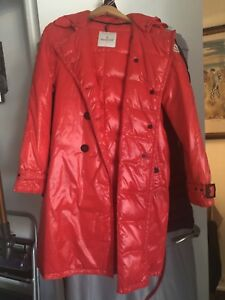 Authentic Moncler Medium/Large, Red colour