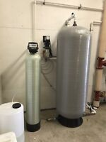 Water softeners/Iron filters/Reverse osmosis