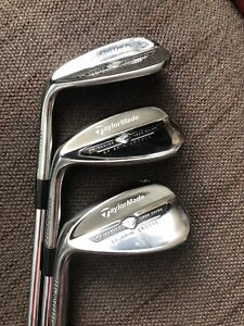 Lefty Taylormade ef spin groove wedges