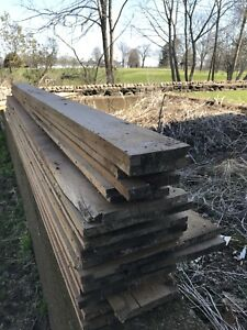 Rough sawn lumber