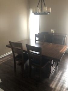 Beautiful Dining Set Package for Sale!