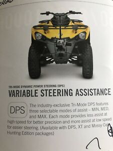 2017 Can-Am  Outlander 450 DPS!!