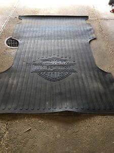 OEM Harley Davidson Logo Heavy Duty Bed Mat for Ford F-150 NEW