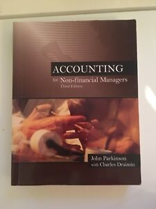 """Accounting for Non-Financial Managers"" Textbook (3rd edition)"