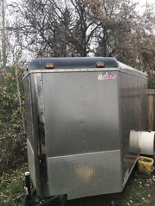Cargo mate enclosed trailer
