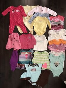 3-6 months baby girl clothings
