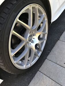Mag rim audi benz a4 a5 a3 a6 20 pouce inch with tires