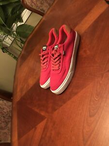 """CROOKS & castles"" red sneakers SIZE: 9 MENS"