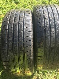 Two tires size /235/55/18