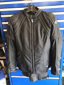 Joe Rocket Riding Gear (ladies) motorcycle jacket and pants.