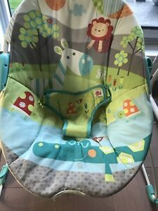 Bright starts baby infant bouncer chair seat