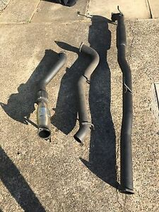 3 inch turbo back exhaust toyota hilux Ryde Ryde Area Preview