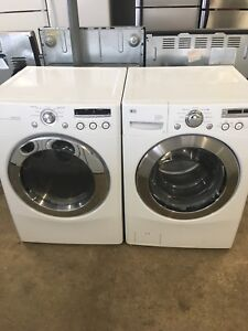 2 years old LG front load washer dryer set