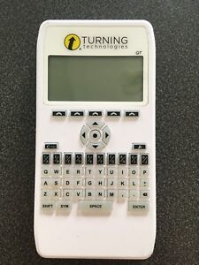 Turning technologies QT clicker