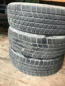 2 + 1 Bfgoodrich traction T/A 185/65 R15 summer tires