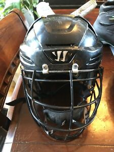 2 used Warrior Lacrosse Helmets for sale