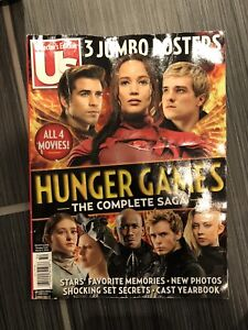 Collectors hunger games magazine