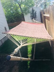 Lounger Hammock and Stand