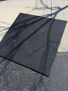 Pick up Today - Heavy duty rubber equipment mats (2)