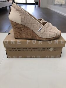Brand New Toms Wedges