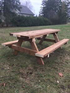 Brand new Kids picnic table