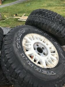 Jimmy rims and tires
