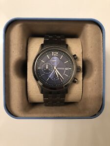 Fossil Gunmetal Gray Stainless Steel Watch