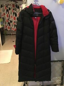 Winter coat with down