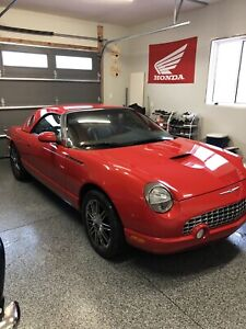 2002 ford thunderbird ( first one in Canada )