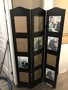 3-Panel Photo Stand Up Frame