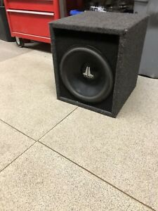 "JL Audio 12"" sub with ported box"