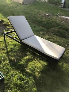 Contemporary Patio Chaise Lounge
