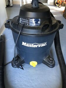 Mastervac vacuum with attachments