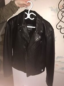 Lucky Brand Leather Jacket with tags